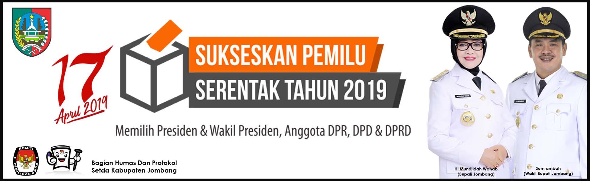 Pemkab Jombang Sukseskan Pemilu 2019